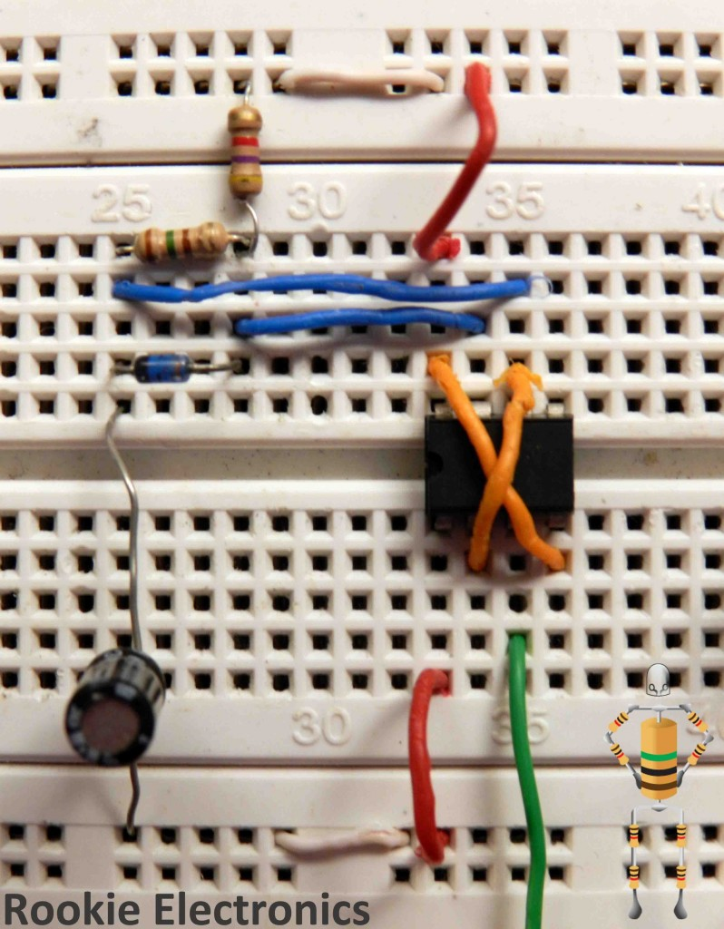 Lfr Using Just 555 Timers Rookie Electronics Timer Circuit Diagram Moreover Internal I Name This Part Of The As Motor Driver Now Is A In Which Our Dc Geared Motors Are To Be Hooked Up So Wee Need Make